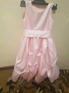 Girl dresses new