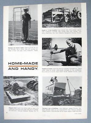 Orig 1961 Handy Farmer Ad Photo Endorsed Glenn Scott, Adams County Colorado