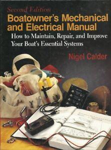 BoatOwners Repair Manual Mechanical/Electrical 1996 Used 2nd