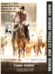 Moose Jaw Cutting Horse Show and Limited Aged Event
