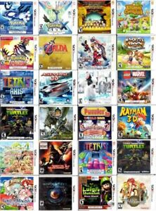 Nintendo 3DS Games (Orillia) (Open For Trading)