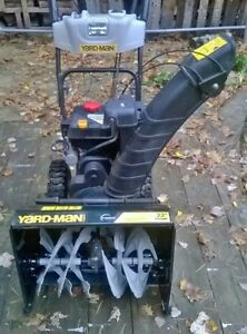 "Yardman 22"" 208cc snowblower Peterborough Peterborough Area image 1"