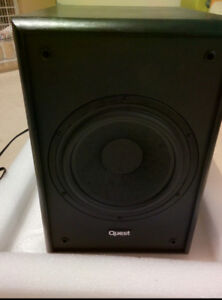 Home Theater Subwoofer. Quest QS8'' .Excellent condition