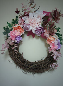 Handcrafted Spring Vine Wreath