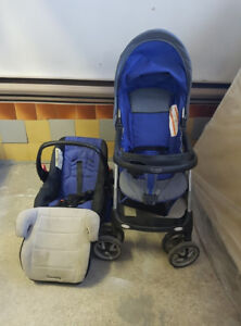 Baby car seat and stroller for sale