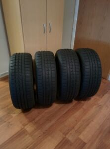 Four 215/55R17 Winter Tires