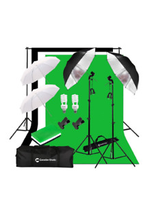 Photography Lighting and Backdrop Set