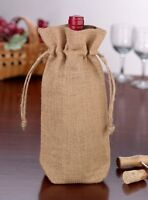 Great for Christmas! ~ Rustic Chic Burlap Gift Bags