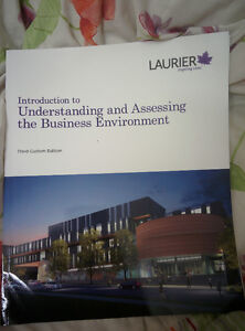 PERFECT CONDITION WLU BU111 TEXTBOOK