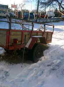 UTILITY TRAILER FOE SALE $400 OBO CALL 647-771-3332
