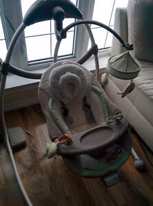Bright star baby swing.Like new