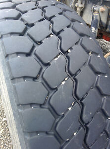 425/65R22.5 STEER TIRES AND WHEELS