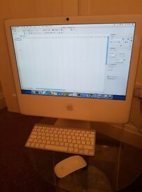 iMac, keyboard and mouse for sale