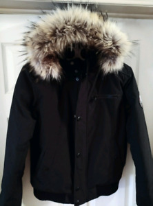 Duck Down-Filled Winter Coat - Small