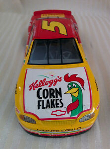 MonteCarlo Race Car with Kelloggs Ad!
