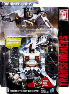 """Transformers Combiner Wars Deluxe Groove """"May Mayhem"""" MOSC"""
