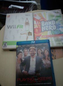 Wii games and Blu Ray