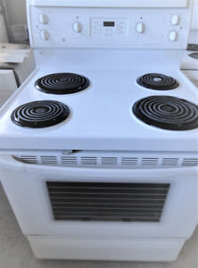 Frigidaire White Coil Stove in Great Condition