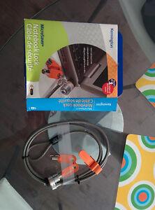 Kensington microsaver notebook lock, câble de sécurité