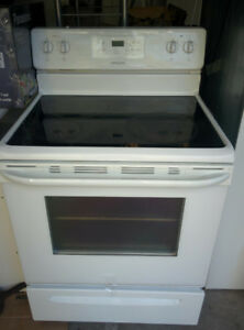 """30"""" glass smooth top stove---year 2017"""