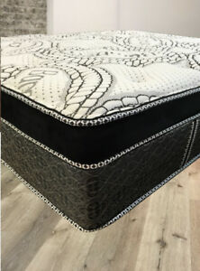 "**15"" Thick, King Luxury Pocket Coil Mattress**"