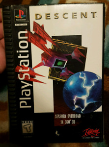 Descent PS1  (longbox)