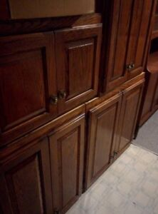 solid hardwood raised panel cabinets