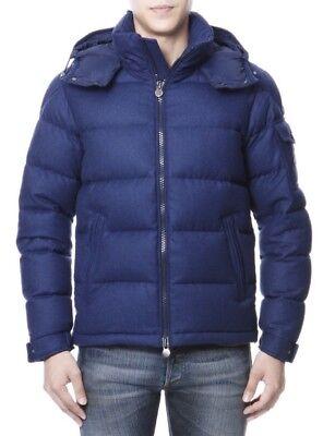 Moncler Montgenevre Down 100% Authentic Puffer Wool Jacket 4 Vest Xl $1465 Hat
