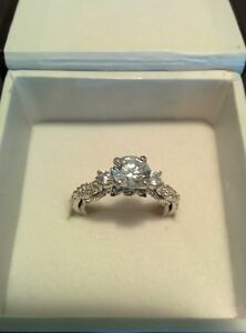 THREE STONE ENGAGEMENT RING (NEW) Still available