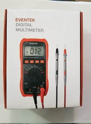 Digital Multimeter Eventek Et580 Lcd Auto Ranging Multi Meter Ampohmvolt Ac...