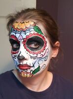 Face Painting for Halloween, Christmas, Birthday Parties- $80/hr