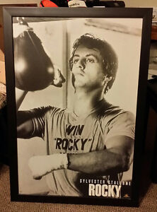 Rocky Balboa framed picture Peterborough Peterborough Area image 1