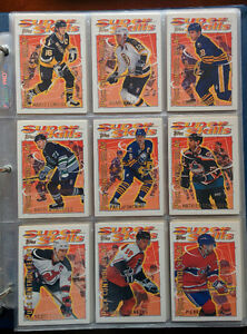 Hockey Cards - Topps Super Skills + Panini All Goalies sets