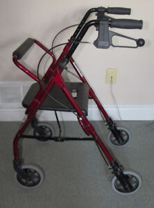 Walker With Seat and Breaks