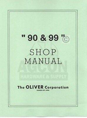 Oliver 28-44 90 99 Special Indust. Shop Service Manual