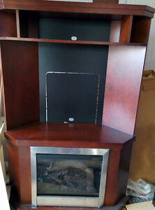 TV Stand with electric fireplace, living room tables Peterborough Peterborough Area image 1