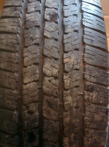 Michelin LTX M/S tire 265/70/17