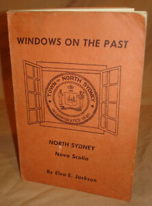 FIRST EDITION WINDOWS ON THE PAST by ELVA E. JACKSON