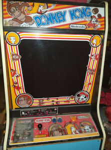 Fully Functioning Donkey Kong in Original Cabinet