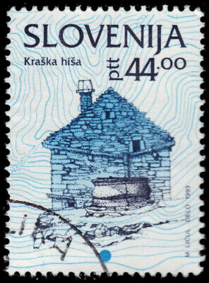"SLOVENIA 162 - Cultural Heritage ""Stone Building"" (pa64983)"