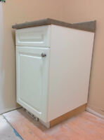 Laundry Cabinet w/ sink & faucet