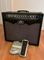 Peavey Vypyr 75 amplifier and Sanpera I footswitch