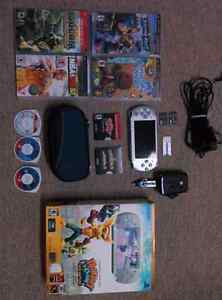 PSP 3000- Ratchet and clank special edition