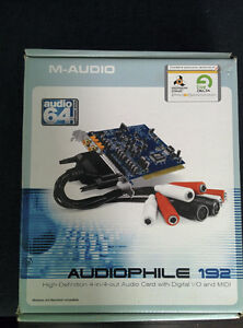 M-AUDIO Audiophile 192