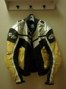 Joe Rocket Speedmaster Leather Jacket Size 42