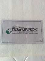 TEMPUR-Pedic King Size Bed, Box Spring & Extra Heavy Duty Frame