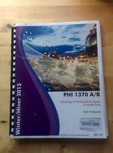 PHI1370 Course Pack