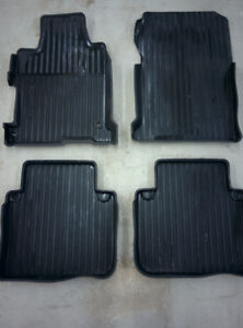 2015 Honda Accord OEM all weather tray mats and cargo trunk tray