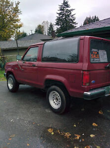 1990 Ford Bronco II SUV, Crossover