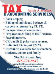 e82cf262dc3 Affordable Tax   Accounting Services in Mississauga and Brampton